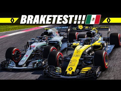 F1 2018 KARRIERE S02E19 – Braketest Beim Mexiko GP | Let's Play Formel 1 Deutsch Gameplay German
