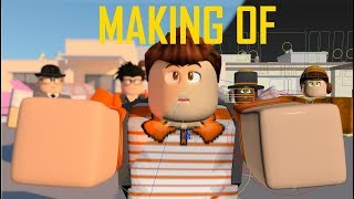 "Making Of ♪ ""Slaying in Roblox"" Roblox Parody (BEHIND THE SCENES)"