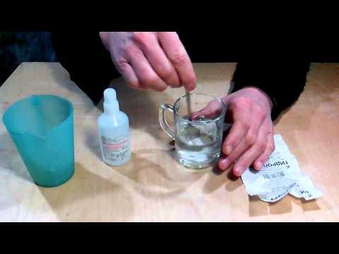 Как из гидроперита сделать 6 перекись водорода
