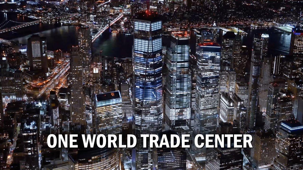 One World Trade Center in 4K, Freedom Tower, Manhattan, New York City