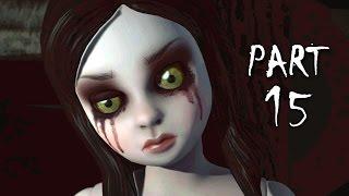 Until Dawn Walkthrough Gameplay Part 15 - Dollhouse (PS4)