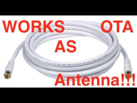 Free TV, No Antenna - Over The Air (OTA) Simple Hack!!!