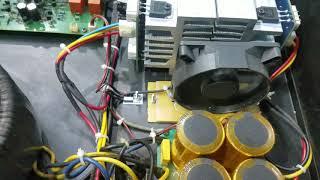 Thử nghiệm mạch điều tốc gió bằng cảm biến theo nhiệt độ main đơn giản