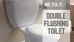 HOW TO | Fix a Double Flushing Toilet