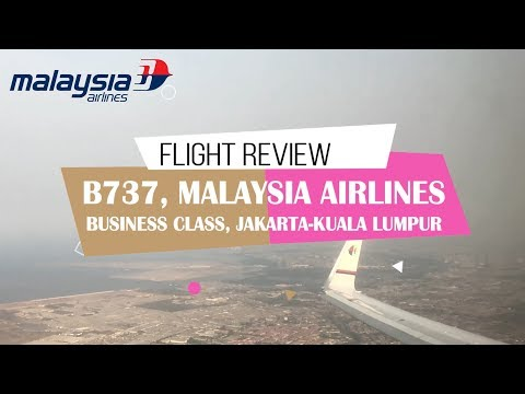 MALAYSIA AIRLINES BUSINESS CLASS | MH720, OLD B737-800 | PLAZA PREMIER LOUNGE