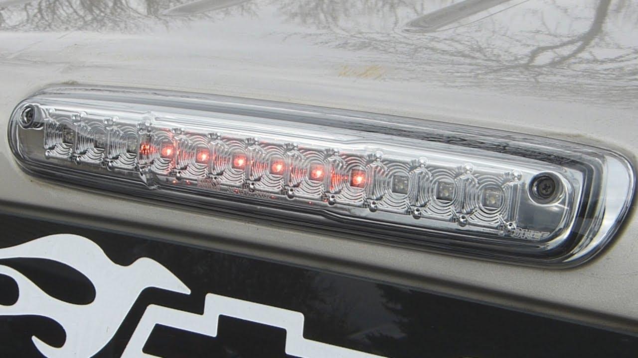 Putco Led Third Brake Light Review Oem Comparison Youtube