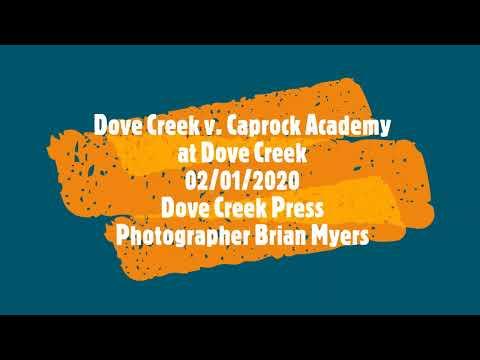 020120 Girl's Varsity Basketball Dove Creek v  Caprock Academy