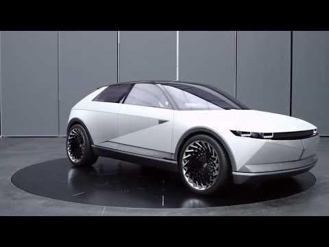 Hyundai muestra más detalles sobre su 45 Concept Car