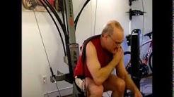 Squats on the Bowflex Blaze Using the Leg Press Belt