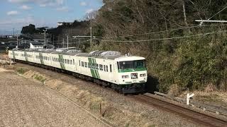 伊豆箱根鉄道駿豆線を走る 185系 特急『踊り子号』