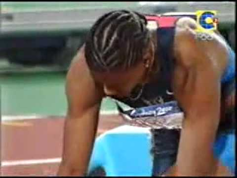 2000 Sydney Olympics 200m women final Susanthika Jayasinghe from Sri Lanka bronze medal.mp4