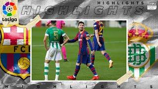 FC Barcelona 5 - 2 Real Betis - HIGHLIGHTS & GOALS - (11/7/2020)