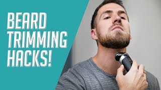 How to Trim a Beard in 2 Minutes    Quick Beard Trimming Hacks