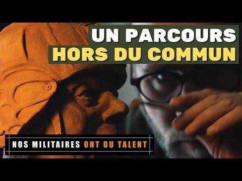 [Gueule de soldat] Le sergent-chef Jean-Baptiste : photographe - Peintre aux Armées