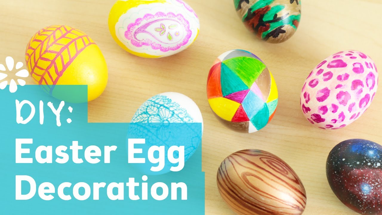 8 Cute & Easy DIY Easter Egg Decorating Ideas | Sea Lemon