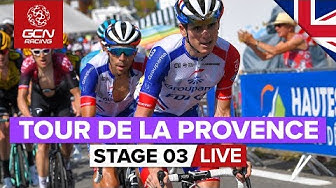 RACE REPLAY: Tour de la Provence 2020 Stage 3 | Mont Ventoux: Chalet Reynard Summit Finish