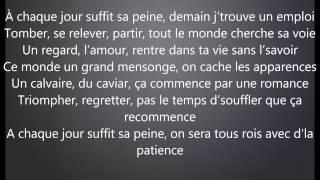 Nessbeal  - A Chaque Jour Suffit Sa Peine avec Parole/Lyrics