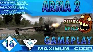 ARMA 2 TAKISTAN LIFE #16 COOP - ZUERA EPICAMENTE ÉPICA! / Gameplay 1080p 60fps PT-BR
