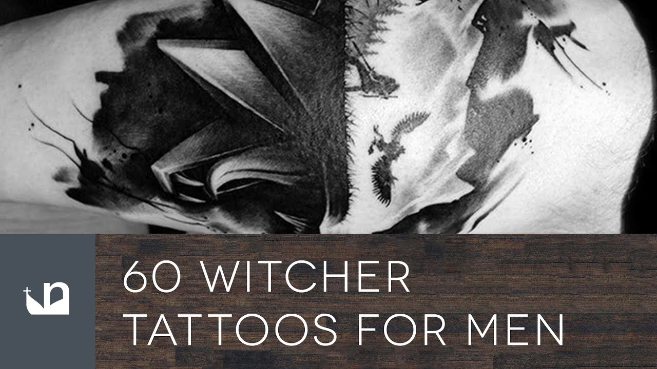 Witcher 3 Tattoo: 60 Witcher Tattoos For Men