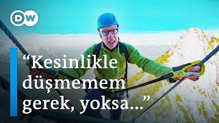 Avusturya Alpleri'nde 'cennete çıkan' merdiven - DW Türkçe