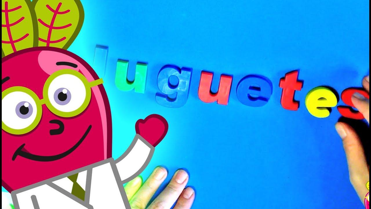 juguetes - Aprede palabras para niños - YouTube