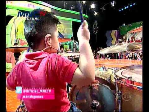 Anak Umur 4 Tahun Main Drum Lagu One Direction - Anak Gemez Indonesia (20/9)