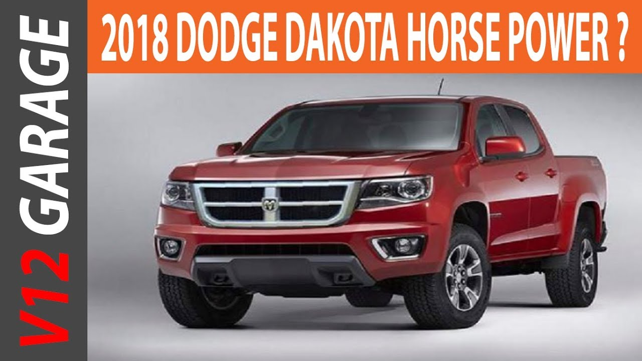 HOT NEWS 2018 Dodge Dakota Concept and Release Date - YouTube