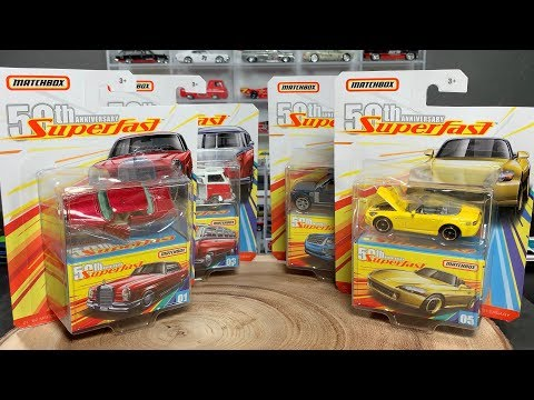 Lamley Preview: Matchbox 2019 Superfast 50th Anniversary Premium Set (All new castings!)