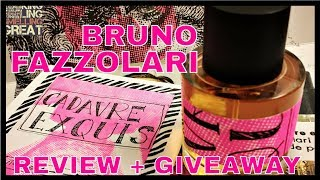 Bruno Fazzolari Cadavre Exquis Review + Giveaway