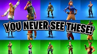 10 Fortnite Skins You NEVER See! (You've Never Seen #10)