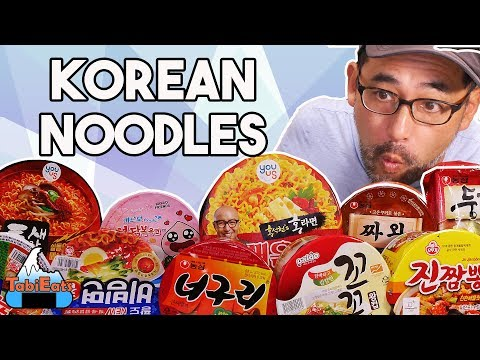 EPIC Korean Instant Noodles Taste Test