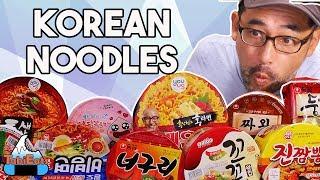 EPIC Korean Instant Noodles Taste Test