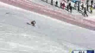 Descente de Bode Miller à Val d'isère - Victoire Coupe du Monde 2008