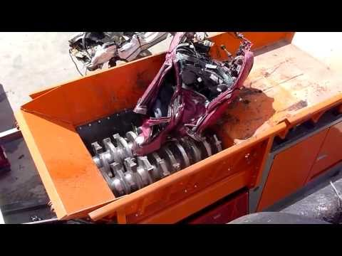 This 'Universal Shredder' Can Destroy A Car