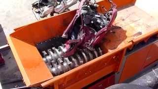ARJES VZ 950 E - stationäre Metallzerkleinerung / stationary shredder for scrap metal