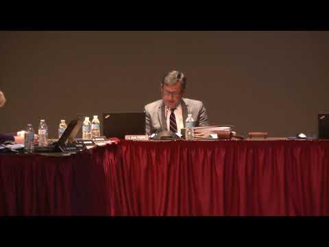 Public Hearing Regarding the Closing of Pine Forge Elementary School 8-26-19