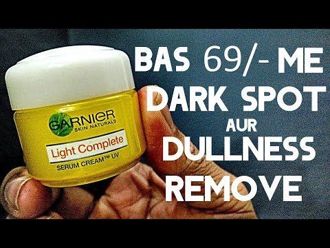 Best Cream For Dark Spot & Dullness Remove In 1 Week | Garnier Light Complete Serum Honest Review