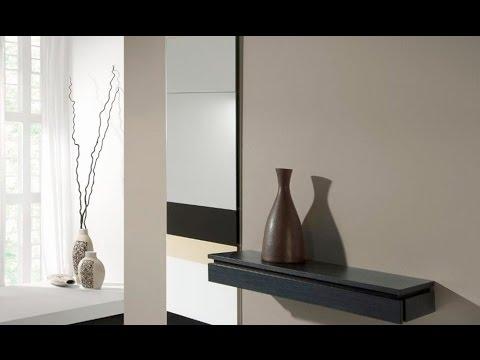 Recibidores modernos en mbar muebles youtube for Recibidores modernos