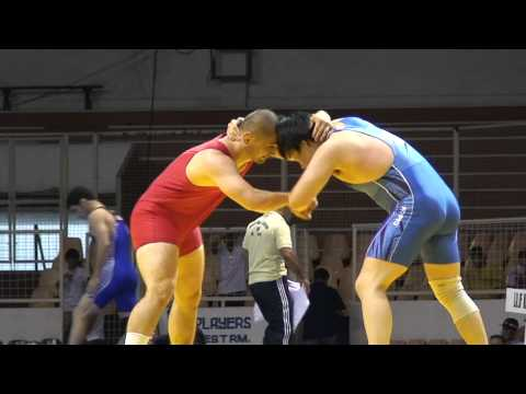 Freestyle Wrestling - Tajikistan vs. Korea - PIN