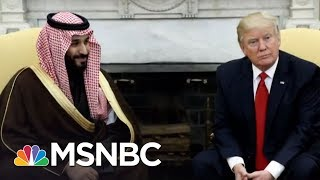 President Donald Trump Hosts Saudi Crown Prince At WH For Second Time | Morning Joe | MSNBC