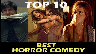Top 10 Best Horror comedy movies of 21st century in [Hindi - English ]| Best scary funny movies .
