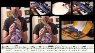 Game of Thrones and The Rains of Castamere - Flute cover and sheet music - Carlos Rodríguez Parrón