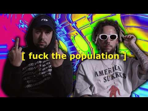 [ fuck the population ] $UICIDEBOY$ x GHOSTMANE TYPE BEAT HARD CLOUD  TRAP 808 FREE INSTRUMENTAL