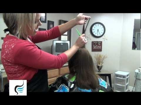 How To Cut Layered Hairstyles | How To Style A Layered Haircut