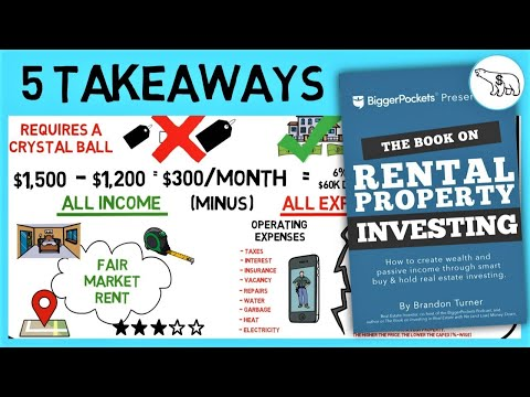 THE BOOK ON RENTAL PROPERTY INVESTING (BY BRANDON TURNER)