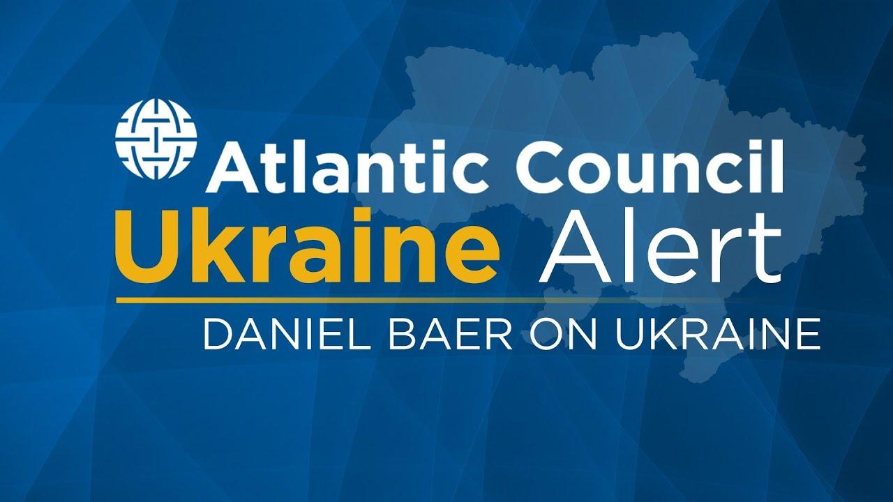Download Daniel Baer on Eastern Ukraine: A Frozen Conflict in the Making?