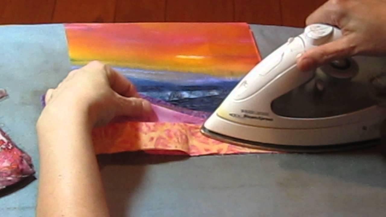 Landscape Quilt - Part 1 - Preparing to Sew - YouTube : landscape quilt patterns - Adamdwight.com