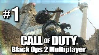 """Call of Duty: Black Ops 2 Live PC Multiplayer w/ Kootra Ep. 1 """"First kill EVER"""""""