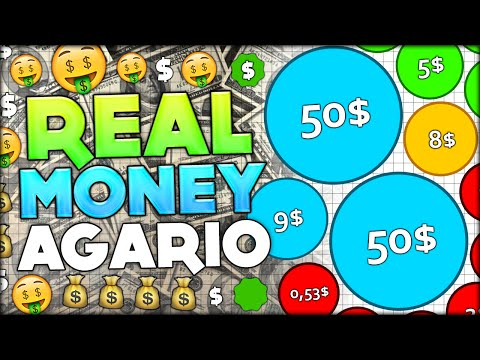 HOW TO MAKE REAL MONEY BY PLAYING AGARIO $$$$ CRAZY PROFIT!!! (Agar.io #141)