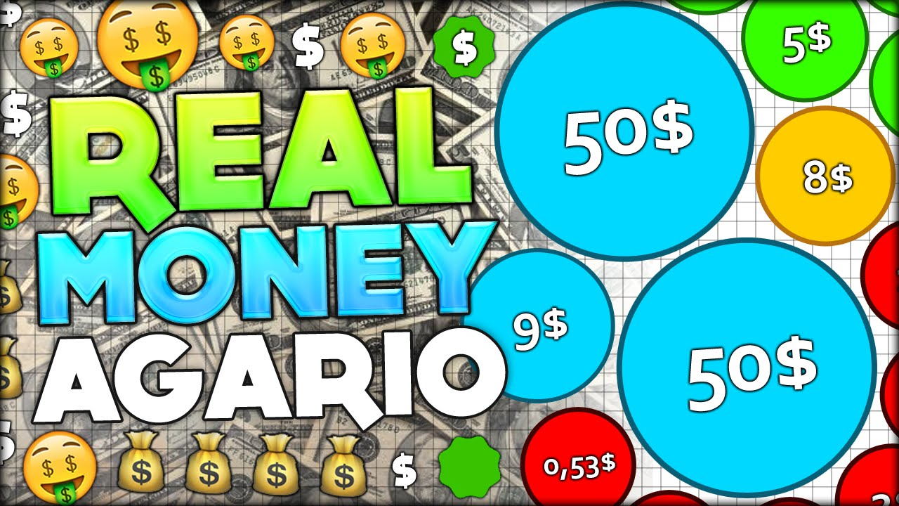 How To Make Real Money By Playing Agario $$$$ Crazy Profit!!! (agar  #141)  Youtube